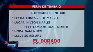 El Dorado Furniture tendrá una Feria de Trabajo para su nuevo local de Naples
