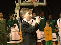 7 year old sings National Anthem - Anthony Gargiula