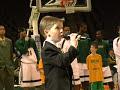 7 year old sings National Anthem - Anthony Gargiula