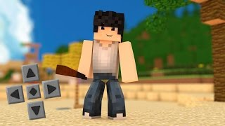 getlinkyoutube.com-Minecraft Pe 0.14.0: GTA Mod Pack! - Carros,Armas,NPC's, e MAIS! - GTA SAN ANDREAS (Pocket Edition)