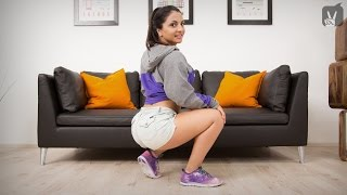 getlinkyoutube.com-Sexy Workout: Booty Dance Lessons mit Nora!