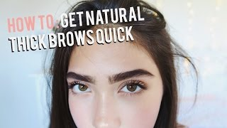 getlinkyoutube.com-How To Grow Eyebrows FAST! (Thick & Natural)