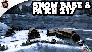 getlinkyoutube.com-ARK Survival Evolved Gameplay #59 Snow Biome Base & Patch 217! Poison Grenades!