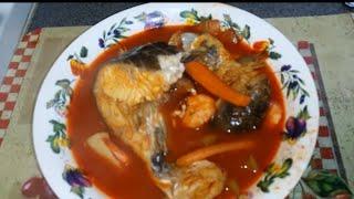 getlinkyoutube.com-Caldo de pescado con camarones