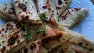 getlinkyoutube.com-Saj Sandwiches كيفية تحضير خبز و سندويشات الصاج بالمنزل