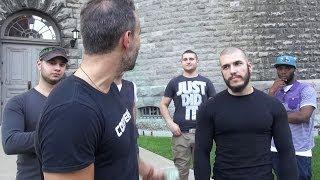 getlinkyoutube.com-4 Guys Trying to Take Me Down (1 on 1)