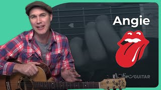 getlinkyoutube.com-How to play Angie by The Rolling Stones (Guitar Lesson SB-408)