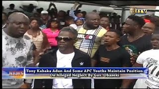 Tony Kabaka and some APC youths maintain position on alleged neglect by Gov. Obaseki