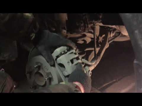 Весёлая замена тормозных колодок hyundai elantra hd