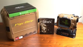 getlinkyoutube.com-FALLOUT 4 UNBOXING!! (Fallout 4 Pip-Boy Edition)