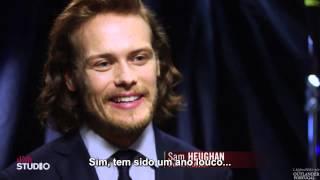 getlinkyoutube.com-TCA 2015 - Caitriona Balfe e Sam Heughan em entrevista a DISH (legendado)