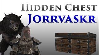 getlinkyoutube.com-Skyrim: Hidden Chest In The Jorrvaskr