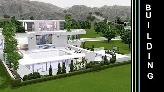 The Sims 3 - Into The Future - Building a Futuristic House - Green Terasse