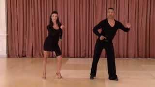 American Style Bronze Cha Cha Variations - Ballroom Dance DVD