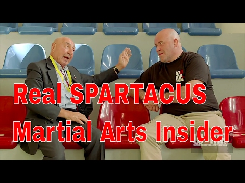 THE REAL SPARTACUS Martial Arts Insider pt2