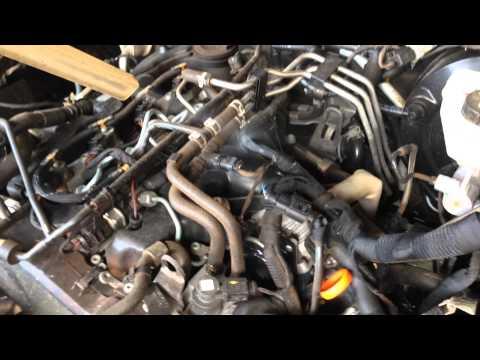 Limpeza Motor da AMAROK atraves do Jateamento com Gelo Seco.
