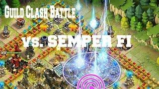 getlinkyoutube.com-Clash of Lords 2- Guild Clash vs. SemperFi