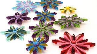 getlinkyoutube.com-COPENHAGEN FLOWERS QUILLING