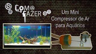 getlinkyoutube.com-Como fazer um mini compressor de ar para aquários