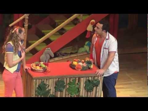 1/5 Comienzo Show Topa y Muni en el Teatro Gran Rex Febrero 2012 La Casa de Disney Junior Canciones