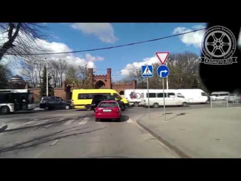 Паджеро торопится в Калининграде. 18.04.17