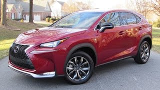 2015 Lexus NX200t F-Sport Start Up, Road Test and In Depth Review