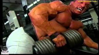 getlinkyoutube.com-300+lb Dave Palumbo and Jimmy the Bull Pellechia Train Back at Bev Francis Gym in 1997!.