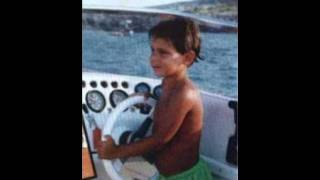 Rafael Nadal, Roger Federer and Novak Djokovic when they were kids