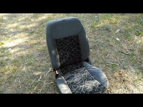 Снятие обшивки с сидений Daewoo sens