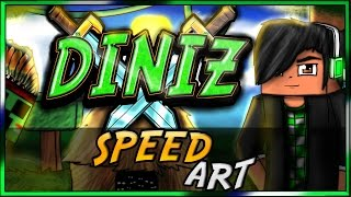 getlinkyoutube.com-Speed Art: Banner Cartoon LNDinizGames