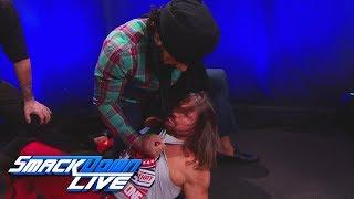 Jinder Mahal & The Singh Brothers ambush AJ Styles: SmackDown LIVE, Dec. 12, 2017