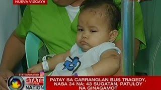 SONA: Patay sa Carranglan bus tragedy, nasa 34 na; 43 sugatan, patuloy na ginagamot