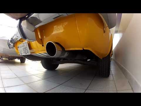 Corcel GT 1975  - Corcelão GT...  O novo escape !! - Biu old parts