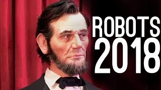 The Most Realistic Robots! (2018) width=