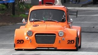 getlinkyoutube.com-Little But Angry Proto P2 Cars With Motorbike Engines - Fiat 500, A112 & Lancia Y10
