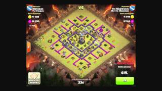 getlinkyoutube.com-7 DEFENSAS, NINGUNA ESTRELLA Clash of Clans