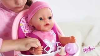 getlinkyoutube.com-Кукла Беби Бон (Baby Born) с аксессуарами