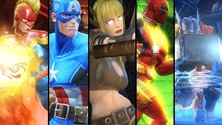 Marvel: Contest of Champions - All Characters Super Moves