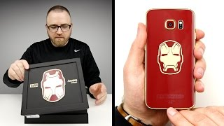 getlinkyoutube.com-Iron Man S6 Edge Unboxing!