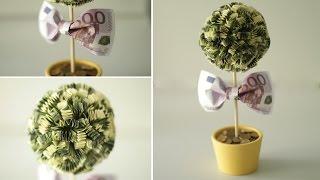 getlinkyoutube.com-DIY: Денежное дерево. Как сделать топиарий своими руками