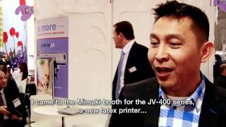 Mimaki Fespa 2012 Feature Presentation