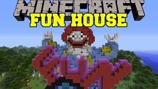 getlinkyoutube.com-Minecraft: FUN HOUSE (A RIDE THROUGH PURE EVIL!) Map