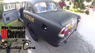 Mike Finnegan's 55' Chevy,The Blasphemi! Roadkill Star's Dream Car!