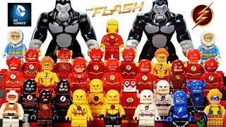 getlinkyoutube.com-My LEGO The Flash DC Comics™ Super Heroes 2016 Minifigure Complete Collection