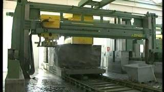getlinkyoutube.com-NT100 cutting centre with 100 disks for granite