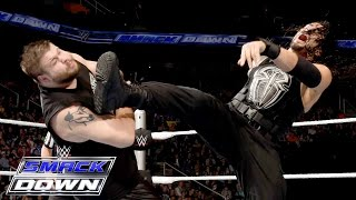 getlinkyoutube.com-Roman Reigns & Dean Ambrose vs. Kevin Owens & Alberto Del Rio: SmackDown, November 19, 2015