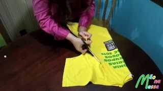getlinkyoutube.com-Customização de camiseta - DIY t-shirt