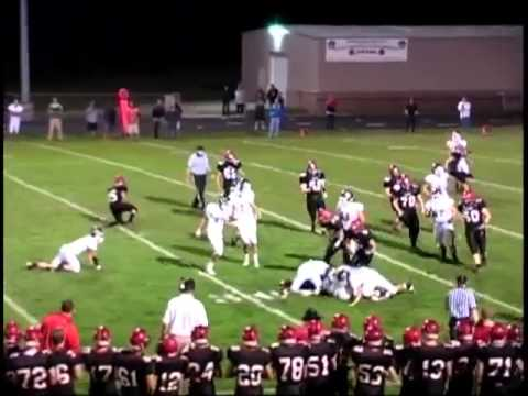 Nate Miller #8 Greendale Football Junior Highlights