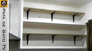 getlinkyoutube.com-Como hacer e instalar repisas / Build and install shelves