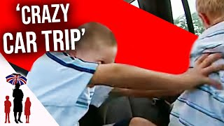 getlinkyoutube.com-Mother Fights With Kid During Car Journey - Supernanny US